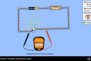 Phet Gleichstrom Labor
